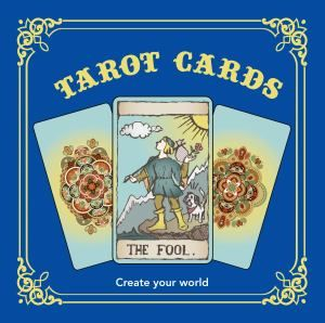 Colouring In Book - Tarot