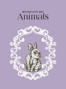 Bookplate set - Animals