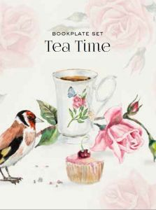 Bookplate set - Tea Time