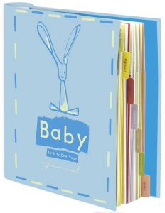 Baby Journal Blue