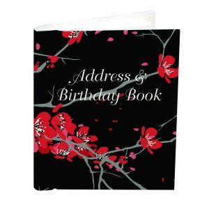 Address and Birthday Book - Cherry Blossom