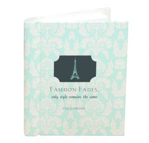 Address and Birthday Book -  Fashion Fades