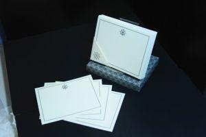 Notelets-Silver Fleur de Lys