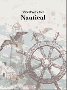 Bookplate set - Nautical