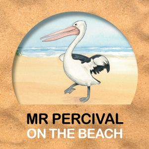 Mr Percival on the Beach