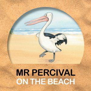 Mr Percival on the Beach