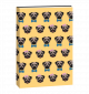 Journal Flexi - Pug with Bow